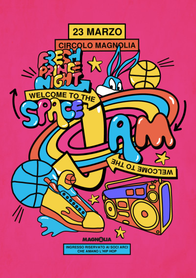 FRESH PRINCE NIGHT • WELCOME TO THE SPACE JAM