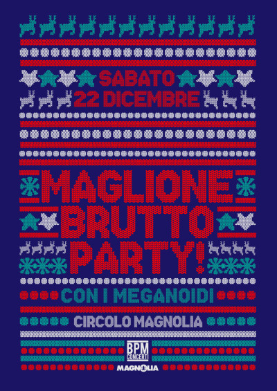 MAGLIONE BRUTTO PARTY con i MEGANOIDI