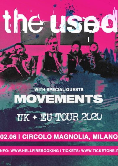 THE USED [CANCELED]