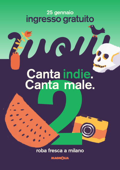 WOW CANTA INDIE. CANTA MALE. VOL. 2
